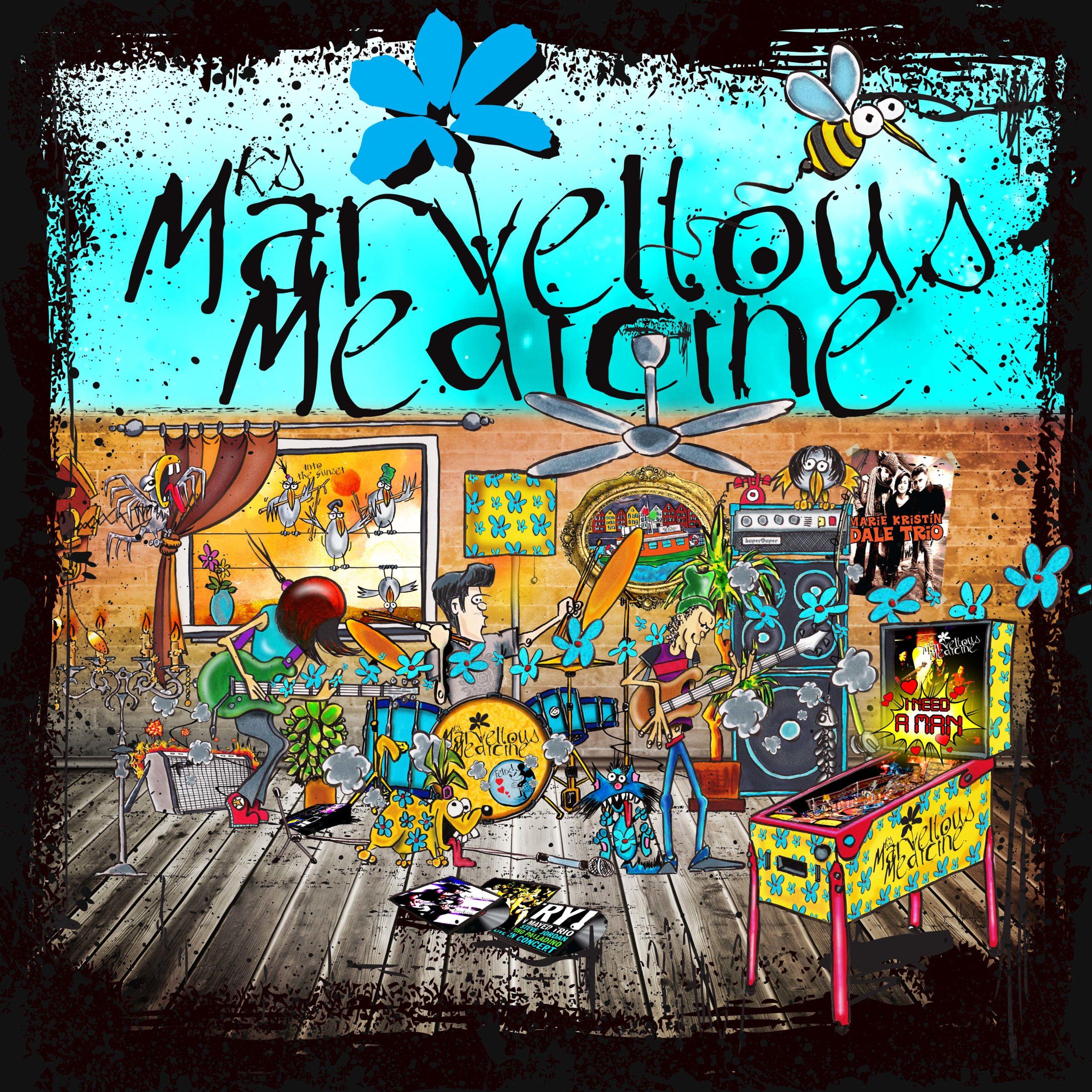 Album art: MK's Marvellous Medicine